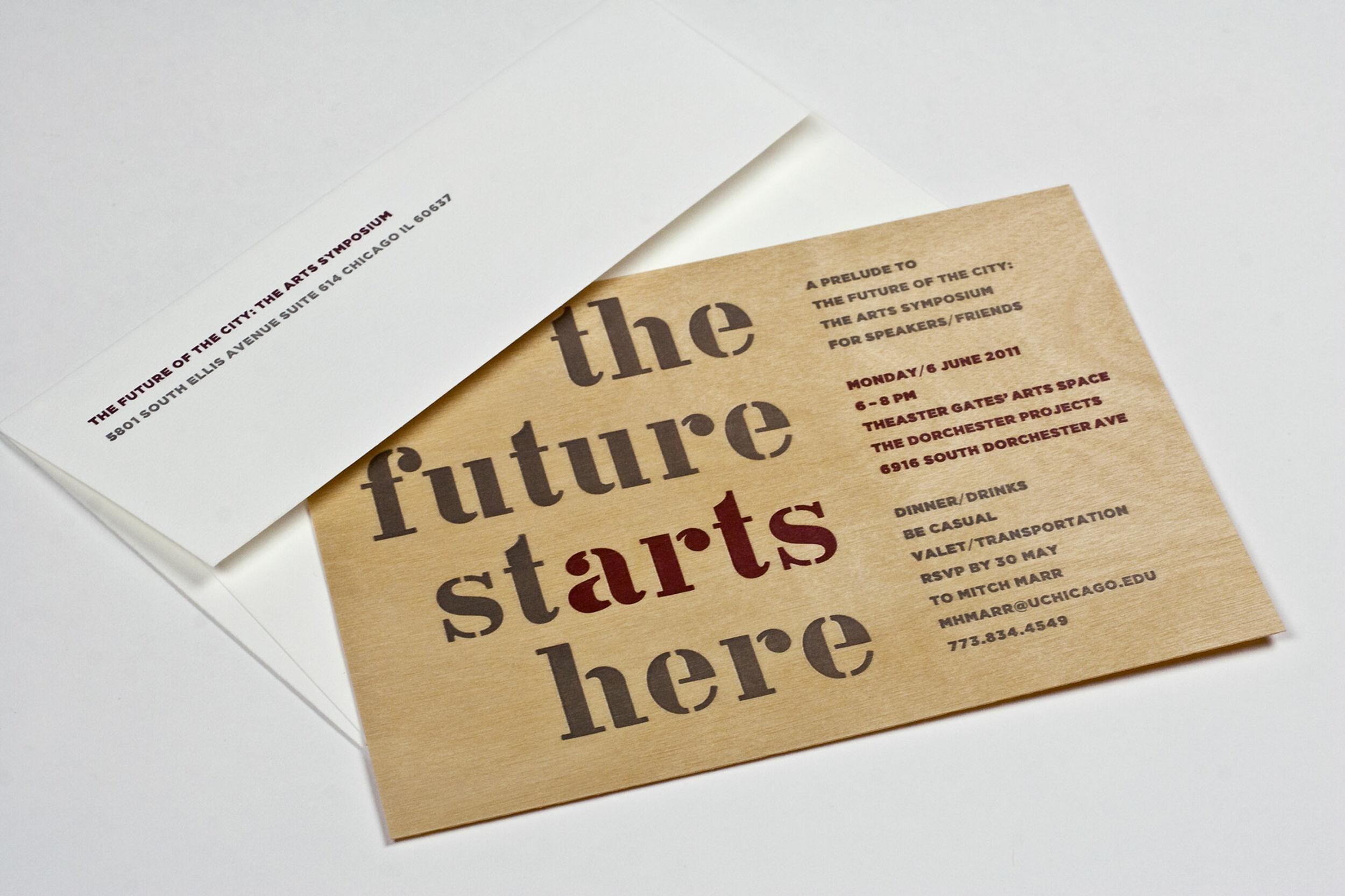 Thirst Futurecity Invitation